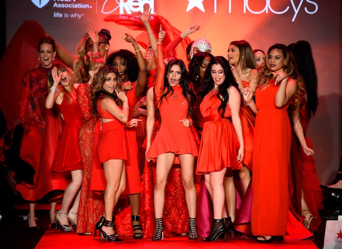 Go Red For Women Red Dress Collection 2015 - during New York Fashion Week