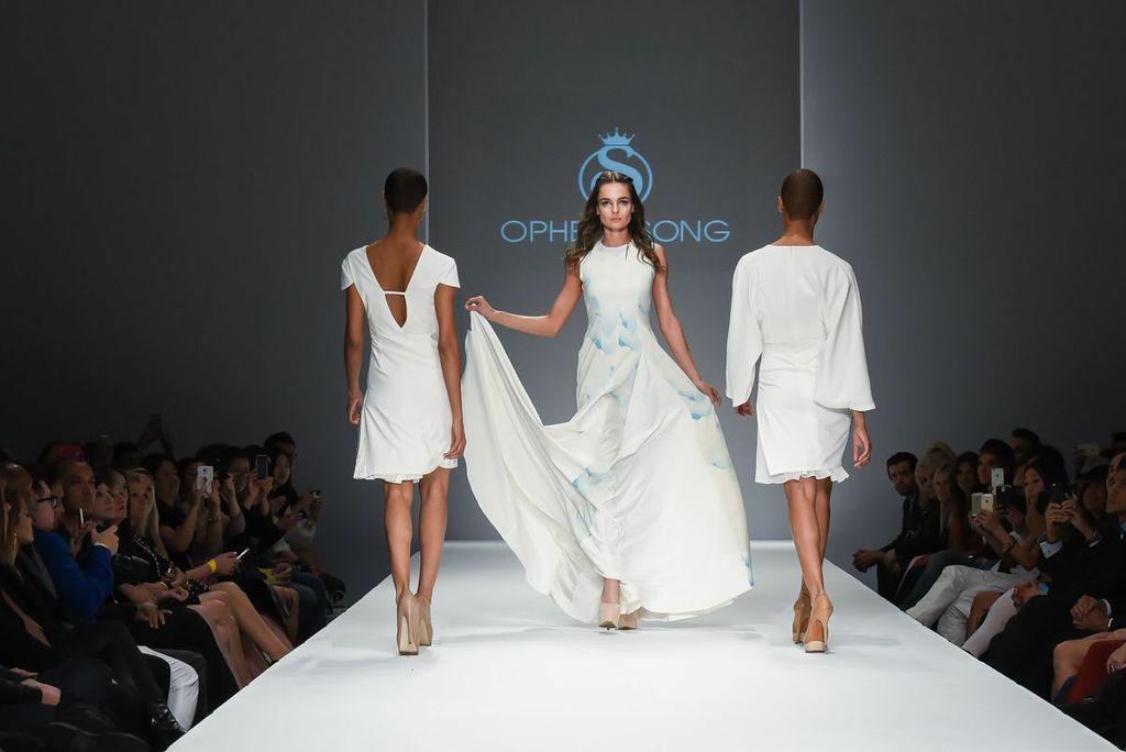 Ophelia Song, Coco Johnsen, & Tatiana Shabelnik at Style Fashion Week