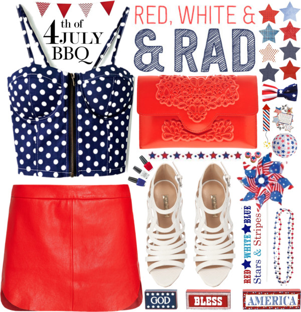 Polyvore 4th of July Set