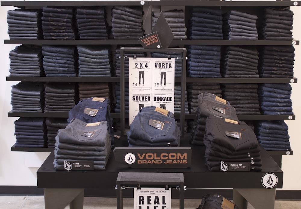 Volcom Denim In Retail Stores Today