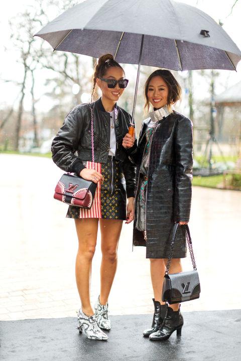 Fall 2016 Paris Fashion Week Street Style Los Angeles
