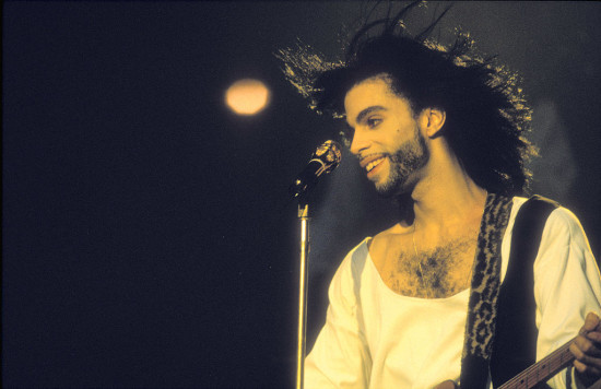 ROTTERDAM NETHERLANDS - 19th JULY: Prince performs at the Kuip in Rotterdam, Netherlands on 19th July 1990. (photo by Frans Schellekens/Redferns)