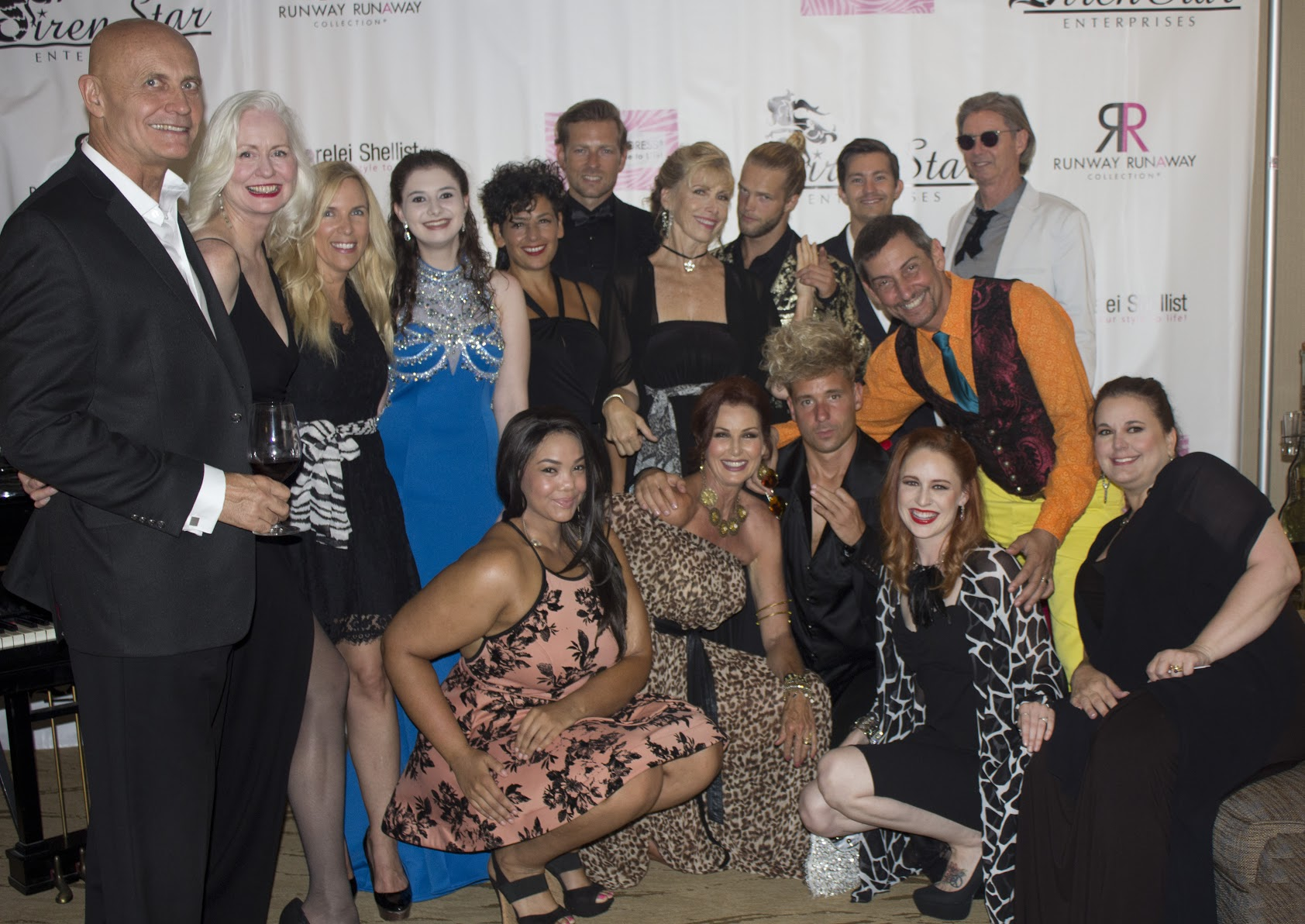 Group Photo at La Jolla Fashion Film Festival Credit: 4Chion Marketing Photographer Raymond Forchion