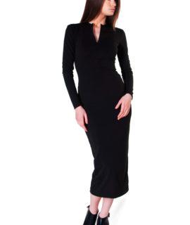 elegant-fitted-black-dress-131152433815558488