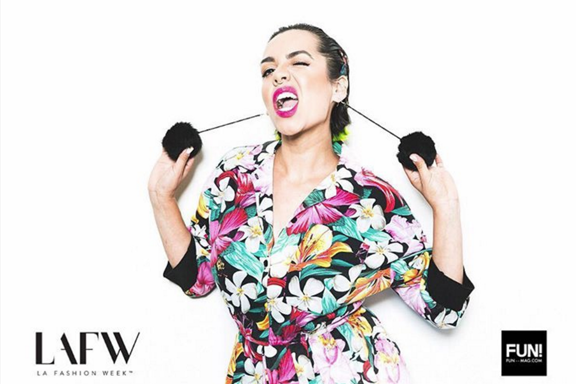 Rebecca Rivera, the creative force behind the fun and innovative Irish Latina brand.
