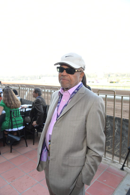 at the 2016 Breeders' Cup World Championships at Santa Anita Park on November 5, 2016 in Arcadia, California.