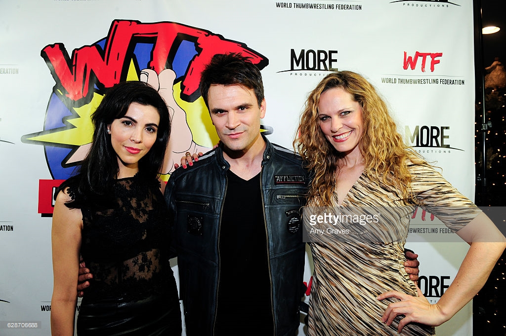Melissa Ricci (Beast Mode), Kash Hovey (As InKevin) and Summer Moore (As In Kevin) C - Amy Graves