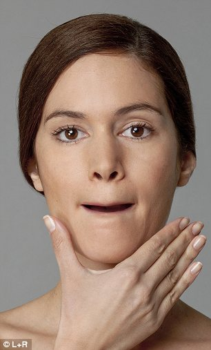 getting-rid-of-face-lines-with-face-lift-exercise