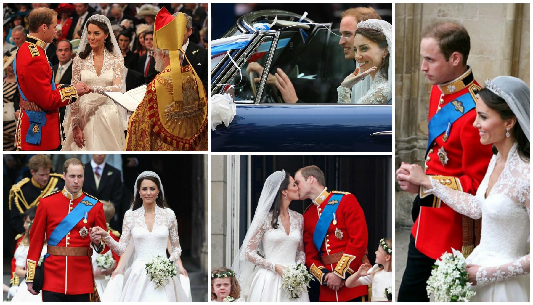 A royal wedding on point