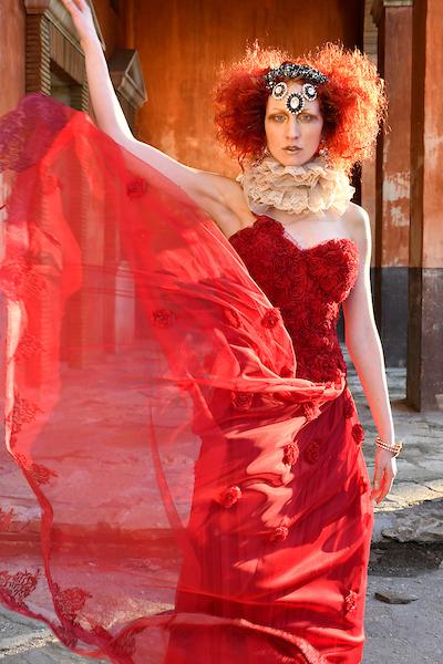 Dress: BANDEROL Model: Milena