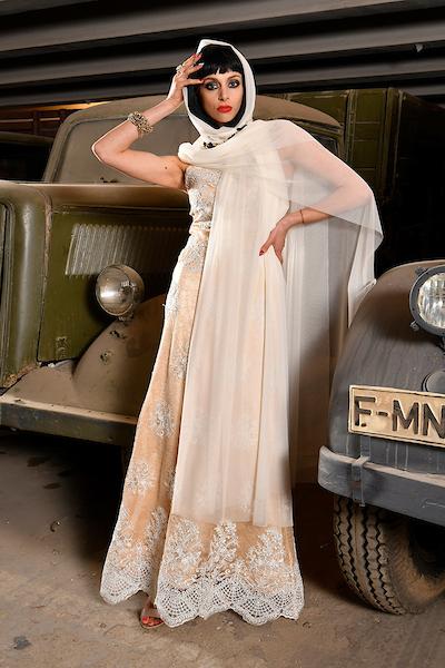 Dress: BANDEROL Model: Dayana