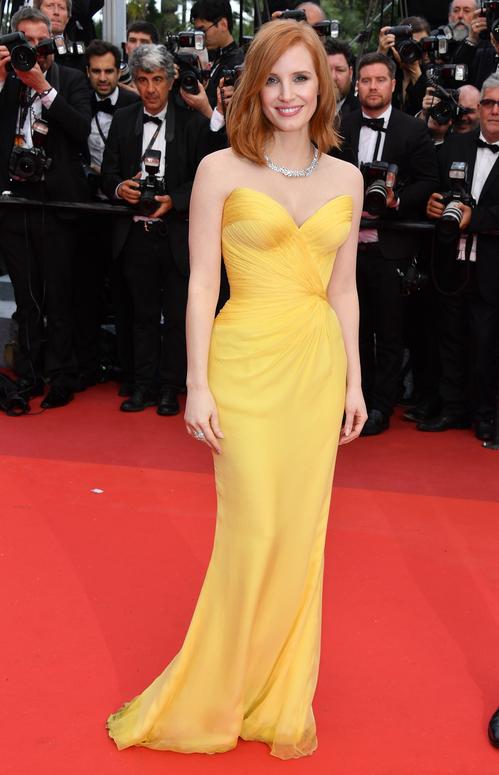 Jessica Chastain Credit: Vogue Paris