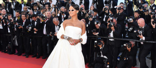 Rihanna attends the 2017 Cannes Film Festival