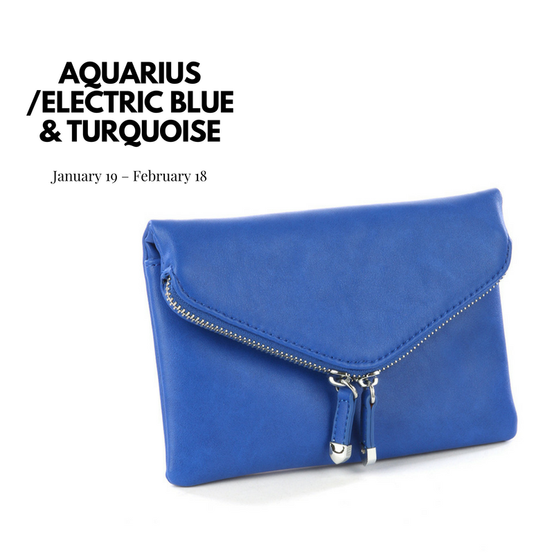 blue envelope clutch bag blue labels boutique