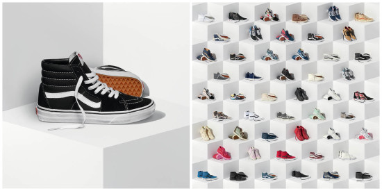 f7036753c807 Vans Releases 50 Brand New Sk8-Hi s for 50th Anniversary Celebration
