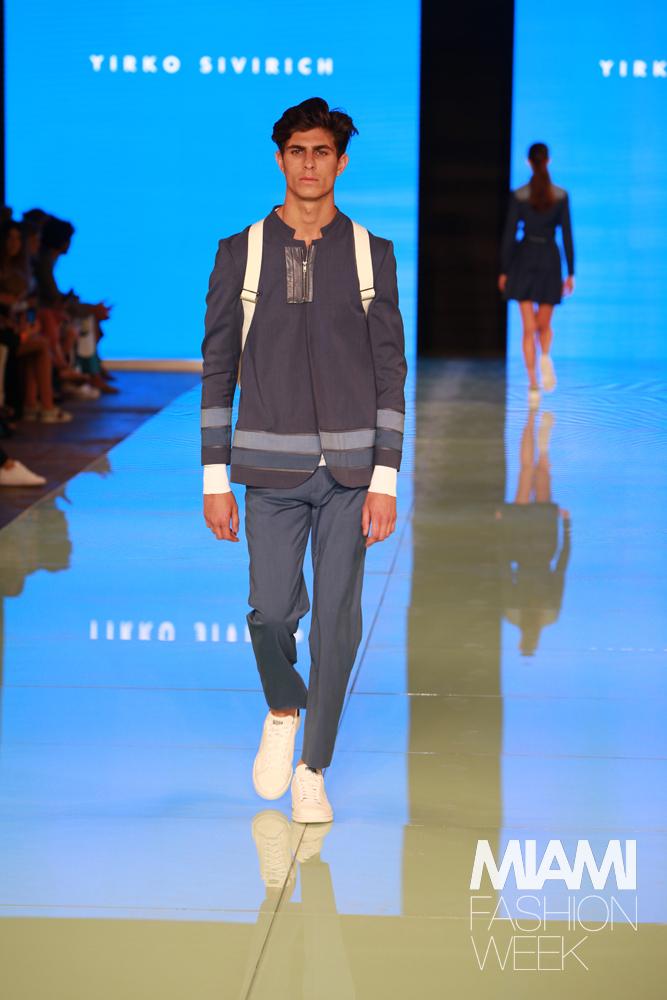 YIRKO SIVIRICH Fashion Show - Miami Fashion Week Credit: Jorge Parra Photography