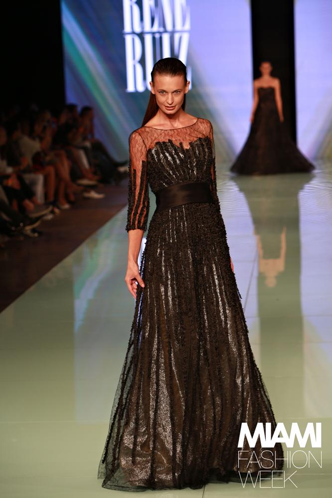 RENE RUIZ Fashion Show - Miami Fashion Week Credit: Jorge Parra Photography