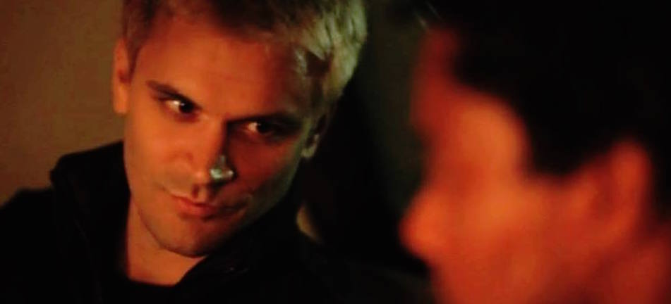 "Kash Hovey and Ron Robinson in ""Edge of Incursion"""