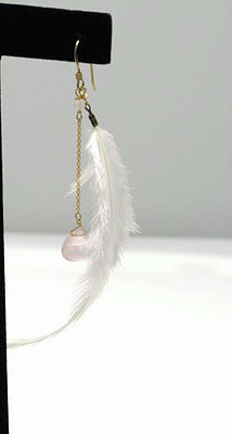 Soft Feather Earring
